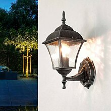 Antike LED Energiespar-Wand-Außenleuchte 6 Watt