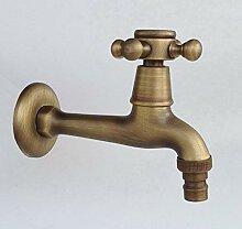 Antike Messing Einhebel Waschbecken Waschbecken