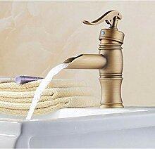Antike Messing Einhebelgriffe Waschbecken