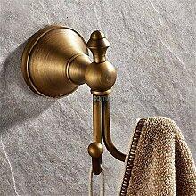 Antike Messing Wandhalterung Bad Handtuch