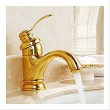 Antike Messing Wasserhahn Badarmaturen Kran
