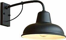 Antike rustikale Bauernhaus-Wandlampe Vintage
