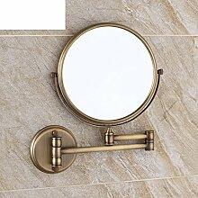 antike Spiegel auf beiden Seiten/Bad Wand klappbare Kosmetikspiegel/Bad Kosmetikspiegel-D