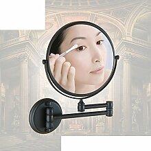 antike Spiegel im Bad/Toilette Teleskop Vergrößerung und Schönheit Spiegel/ Faltung Wandspiegel-B
