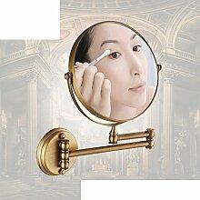 antike Spiegel im Bad/Toilette Teleskop Vergrößerung und Schönheit Spiegel/ Faltung Wandspiegel-A