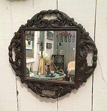 Antike Spiegel mit geschnitzten Holzrahmen, 2er Set