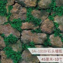 Antike Stein Tapete, Selbstklebende Wasserdichte