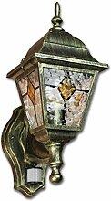 Antike Wand Außenleuchte Wandlampe mit