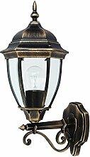 Antike Wand-Energiespar-Außenleuchte 11 Watt IP44 aus Aluguss Außenlampe Wandleuchte Lampe Leuchte