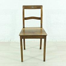 Antiker Biedermeier Stuhl aus Nussholz