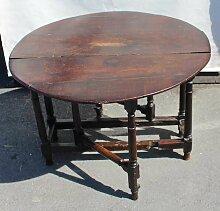 Antiker Eiche Gateleg Tisch