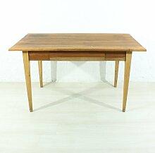 Antiker Ess- oder Schreibtisch aus Kirschholz,