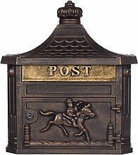 Antiker großer und sehr edler Briefkasten GLY 04
