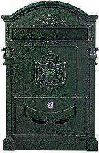 Antiker großer und sehr edler Briefkasten