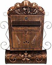 Antiker großer und sehr edler Briefkasten LB6028