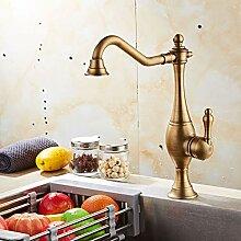 Antiker Küchenarmatur Kupfer Einhebel Küche