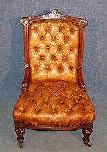 Antiker Leder Sessel