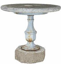 Antiker schwedischer Gartentisch mit Basis aus