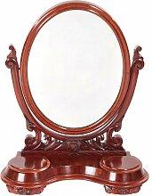 Antiker viktorianischer Tischspiegel mit Rahmen