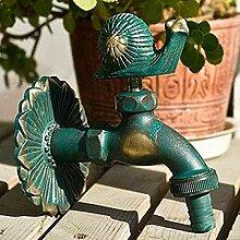 Antiker Wasserhahn Gartentierform