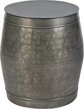 Antiker Zink Beistelltisch - Tub
