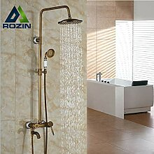 Antikes Messing Badezimmer Dusche Wasserhahn