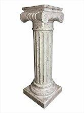 Antikes Wohndesign Griechische Blumensäule
