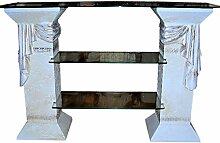 Antikes Wohndesign TV Rack Regal Fernsehschrank TV