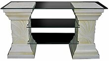 Antikes Wohndesign TV Rack Regal Säulenregal