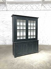 Antikes zweiteiliges Bücherregal