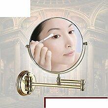 Antique Badezimmerspiegel/Badezimmer Teleskopvergrößerungsspiegel/Wand-Klappspiegel-C