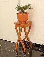 Antiseptic Holz Blumenständer Massivholz Boden Blumentopf Regal / Pflanze Stand / Blume Rack / Display Rack für Büro / Wohnzimmer Schlafzimmer Blumentopf Regal Starke Tragfähigkei