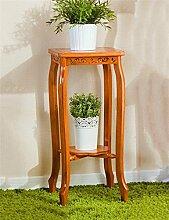 Antiseptic Holz Blumenständer Retro Boden Blumentopf Regal / Pflanze Stand / Blume Rack Für Balkon / Wohnzimmer Blumen Rack Starke Tragfähigkeit ( größe : S )