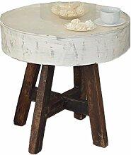Antyki24 Tisch Esstisch Gartentisch Metall Shabby