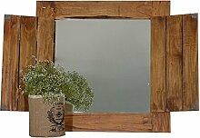 Antyki24 Wandspiegel Fenster Shabby Spiegelfenster