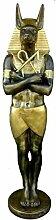 Anubis - Lebensgroß - Ägyptische Figuren - AE056