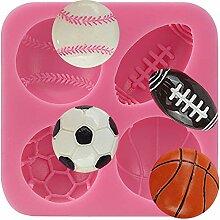 anyana Fußball Basketball Tennis Silikon Kuchen