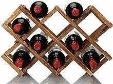 Anyeat Weinhalter Weinregal, 10 Gitter Flaschen
