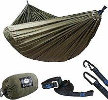 Anyoo Camping Fallschirm Hängematte Mit 3m