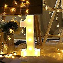 Anzahl Licht LED Digital Lichter Zeichen Stehen