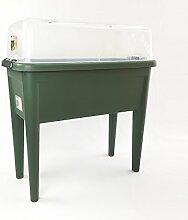 Anzucht Tisch grün mit Deckel von elho