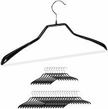 Anzug Kleiderbügel, 30er Set, breite Schulter,