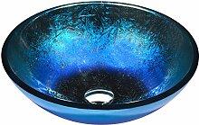Anzzi LS-AZ197 Waschbecken aus gehärtetem Glas,