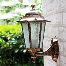 AO Retro Led Wandleuchte Outdoor-gang Nachttisch Wand Lampe Treppe Innen Balkon Hotel Wand Wasserdichtes Licht,170 * 300