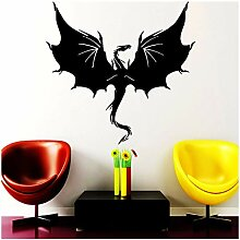 aobobaihuo Animal Dragon Wandaufkleber Big Wings