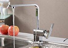 AOEIY Drehen Wasserhahn Küchen Mischbatterie