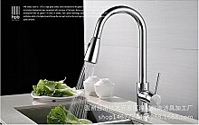 AOEIY Drehzug Wasserhahn Küchen Mischbatterie