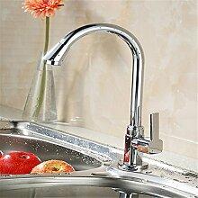 AOEIY Wasserhahn Küchen Mischbatterie Einzelne