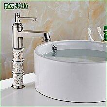 AOEIY Wasserhahn Küchen Mischbatterie Gebürstete