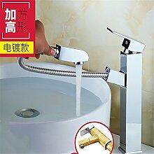 AOEIY Wasserhahn Küchen Mischbatterie Heiße
